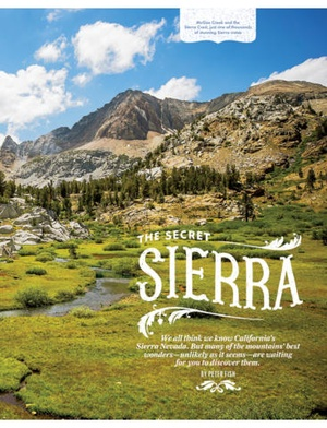 Screenshot SUNSET Magazine on iPad