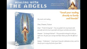 Screenshot Healing with the Angels Oracle Cards on iPhone