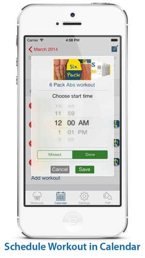 Screenshot Chest Workout: Pump it Up on iPhone