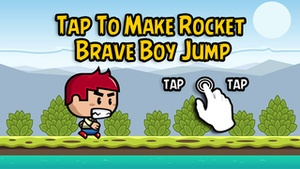 Screenshot Rocket Brave Boy on iPhone