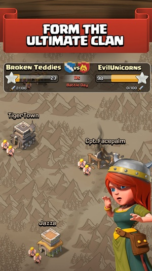 Screenshot Clash of Clans on iPhone