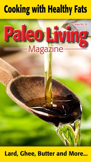 Screenshot Paleo Living Magazine on iPhone