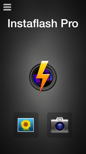 Screenshot Instaflash Pro on iPhone