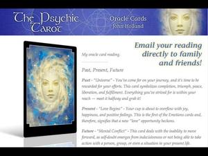 Screenshot The Psychic Tarot Oracle Cards on iPad
