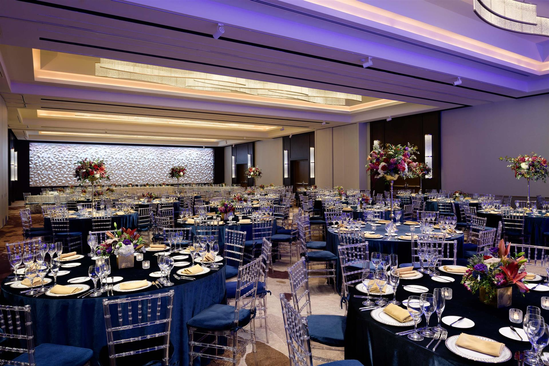navy blue wedding reception decorations.htm meetings and events at hilton washington dc national mall  hilton washington dc national mall