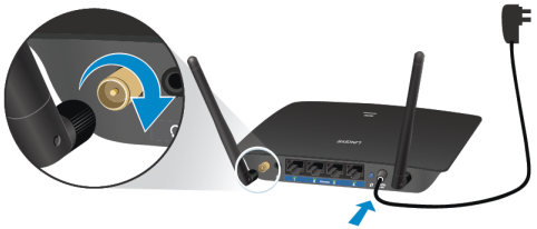 Linksys Official Support - Setting up the Linksys RE6500 and