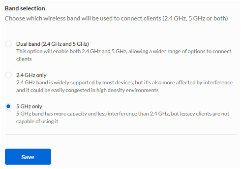 Linksys Official Support - Linksys Cloud Manager: SSIDs page