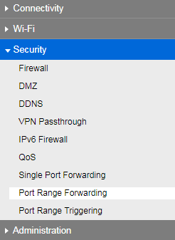 Linksys Official Support - How to configure Port Range