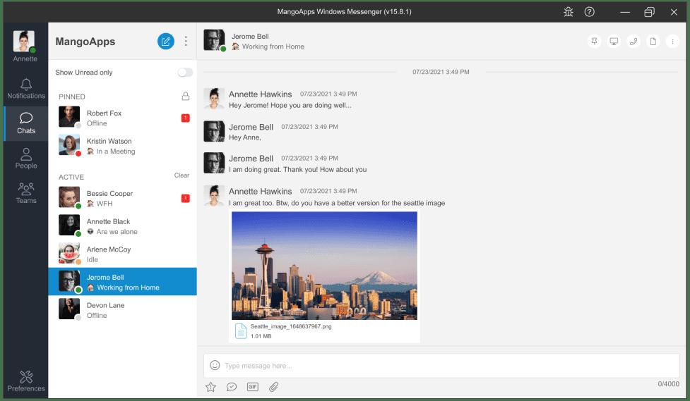 MangoApps Desktop for all Windows platform