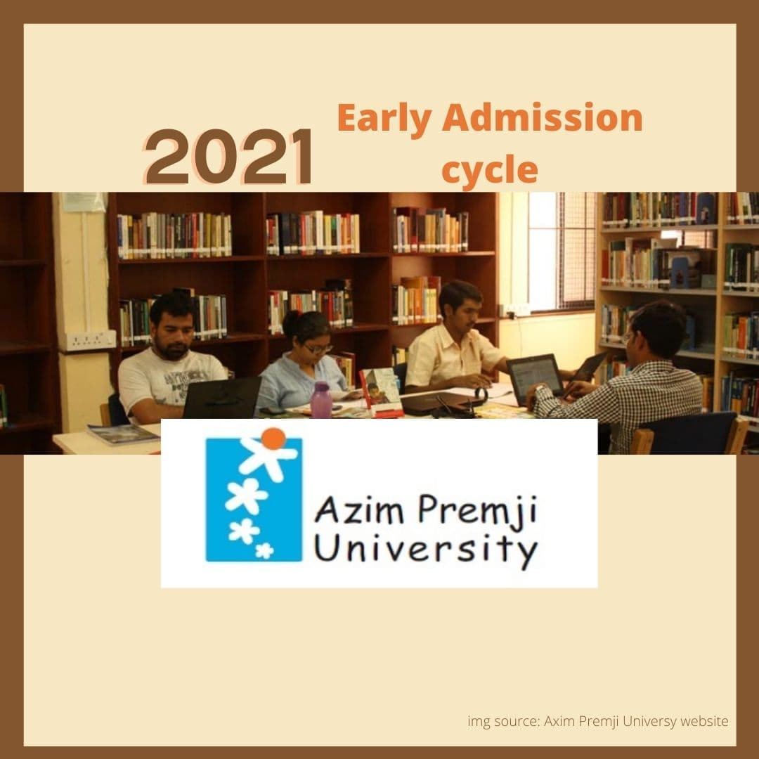 Azim Premji University Admission