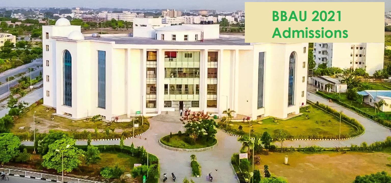 BBAU Lucknow 2021 Entrance Test by NTA