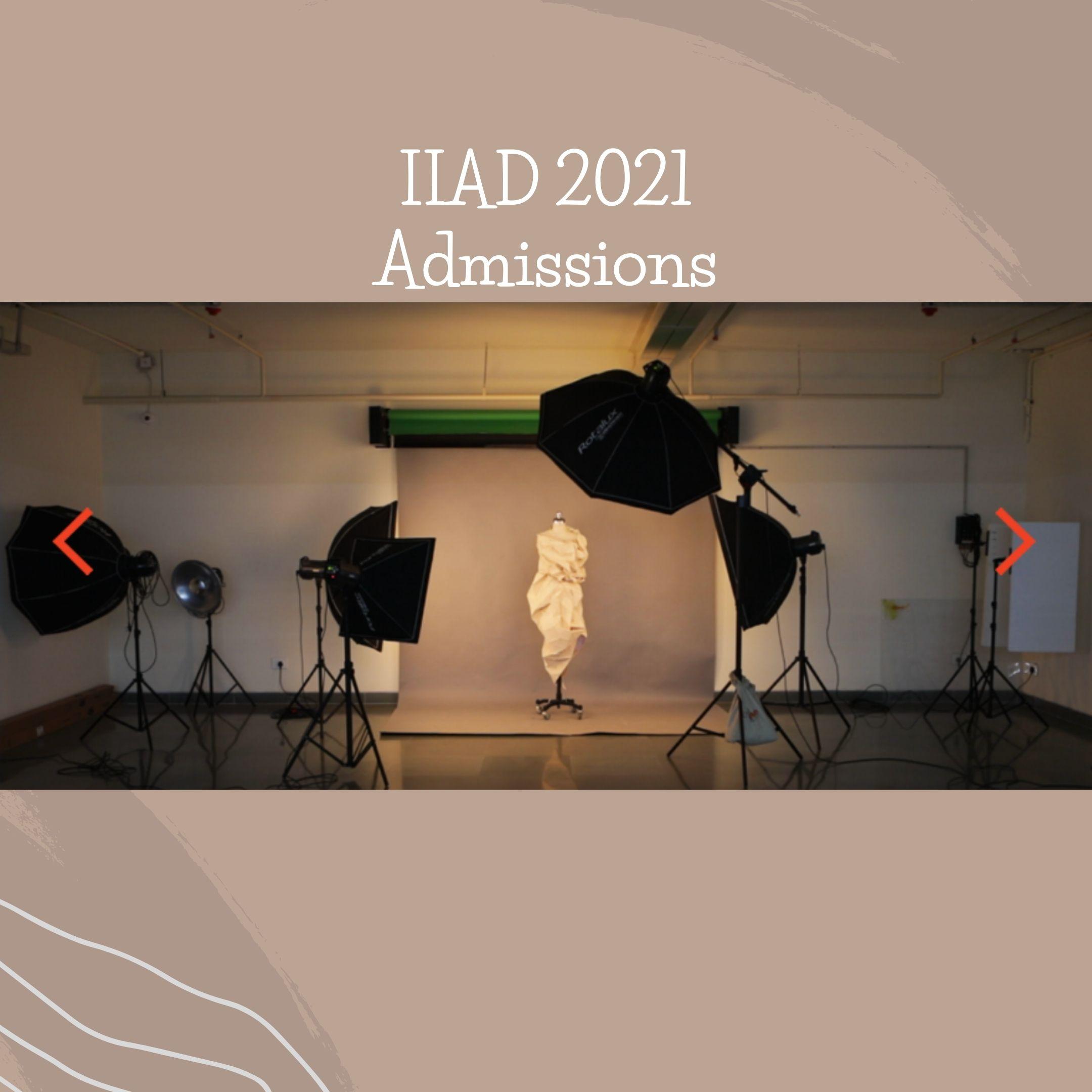IIAD 2021 Admissions