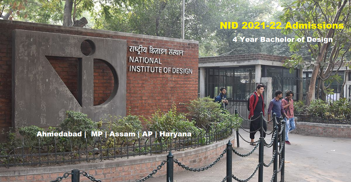 NID-2021-22 Admissions