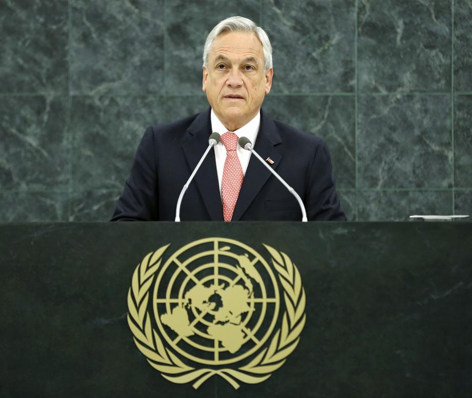 S.E. M.Sebastián Piñera Echeñique
