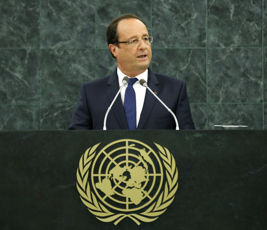 H.E. Mr.François Hollande