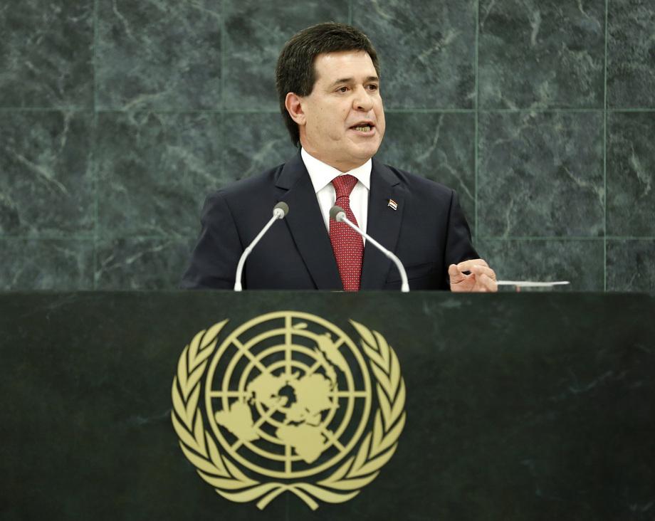 S.E. M.Horacio Manuel Cartes Jara