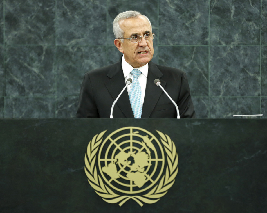 H.E. Mr.Michel Sleiman
