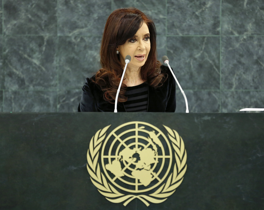 S.E. MmeCristina Fernández