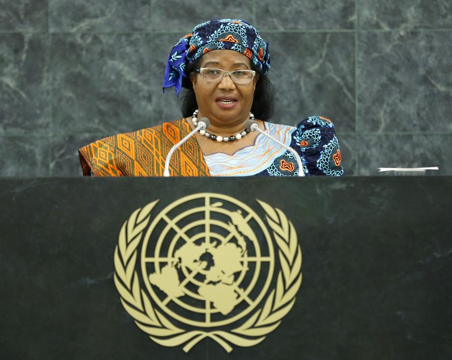 H.E. Mrs.Joyce Hilda Mtila Banda
