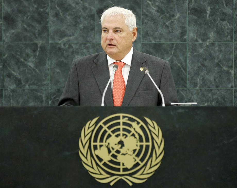 H.E. Mr.Ricardo Martinelli Berrocal