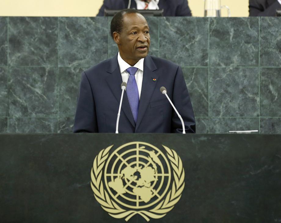 S.E. M.Blaise Compaoré