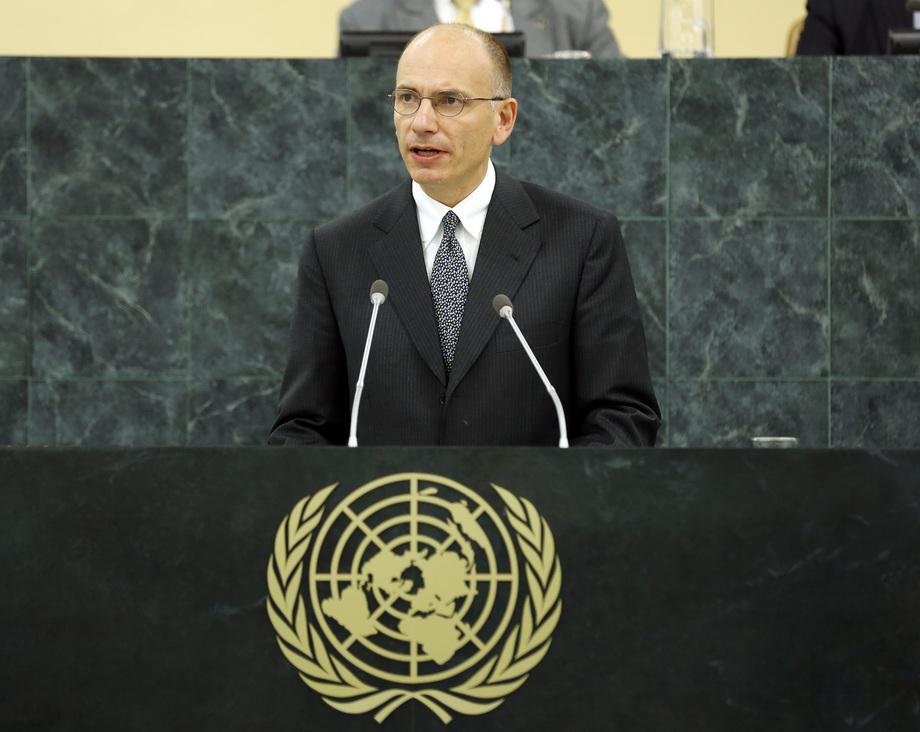 H.E. Mr.Enrico Letta