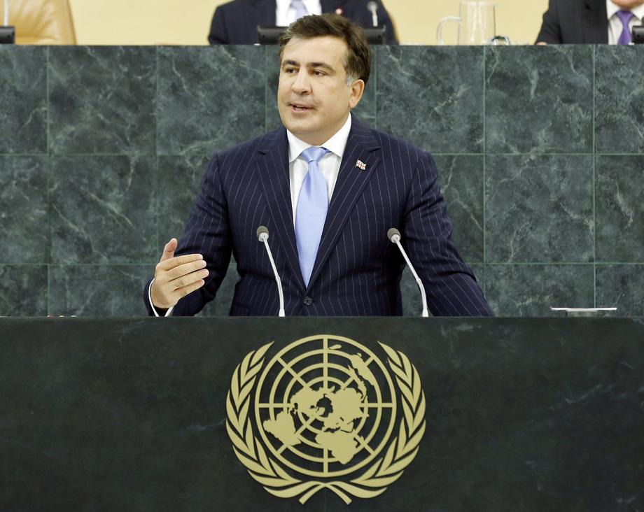 H.E. Mr.Mikheil Saakashvili