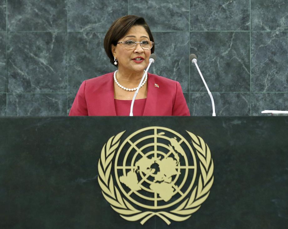 H.E. Mrs.Kamla Persad-Bissessar