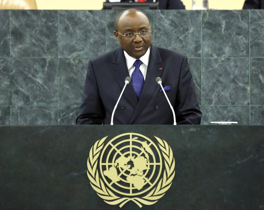 H.E. Mr.Pierre Moukoko Mbonjo