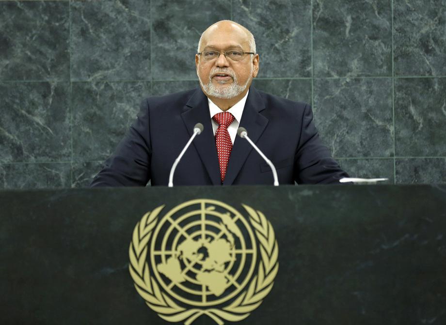 S.E. M.Donald Rabindranauth Ramotar
