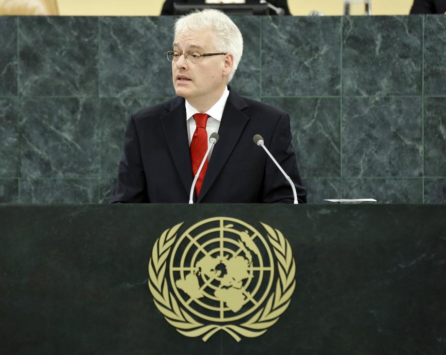 H.E. Mr.Ivo Josipović