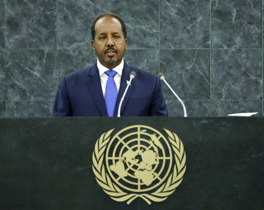 H.E. Mr.Hassan Sheikh Mohamud