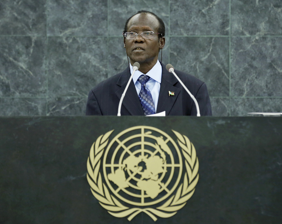 H.E. Mr.James Wani Igga