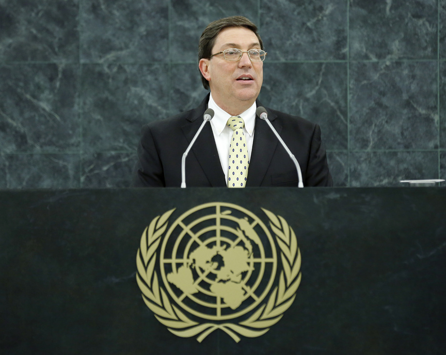 H.E. Mr.Bruno Rodriguez Parrilla