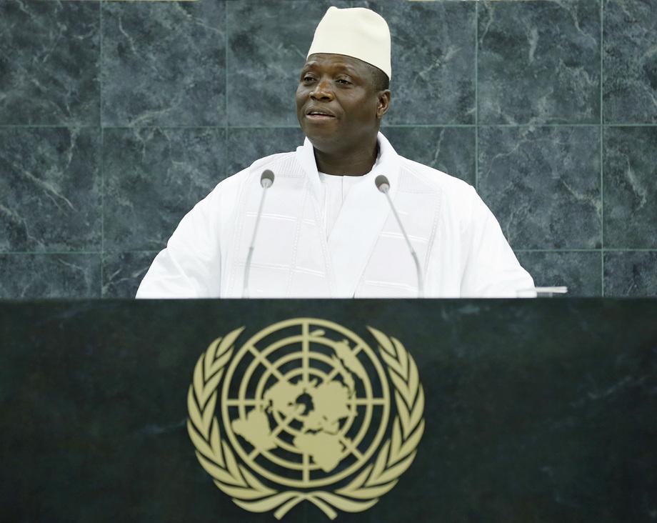 H.E. Mr.Yahya Jammeh