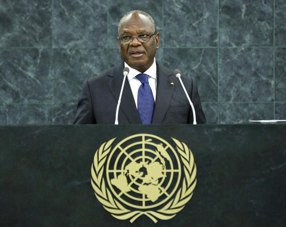 S.E. M.Ibrahim Boubacar Keïta