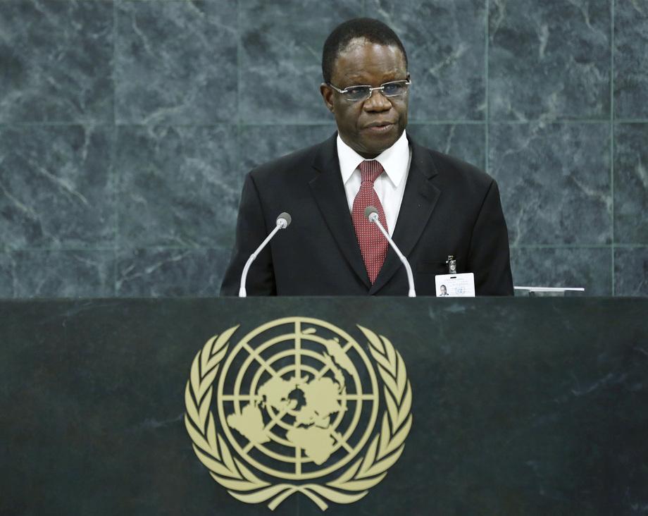 S.E. M.Basile Ikouebe