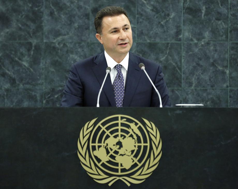H.E. Mr.Nikola Gruevski