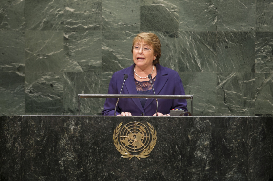 H.E. Mrs.Michelle Bachelet Jeria