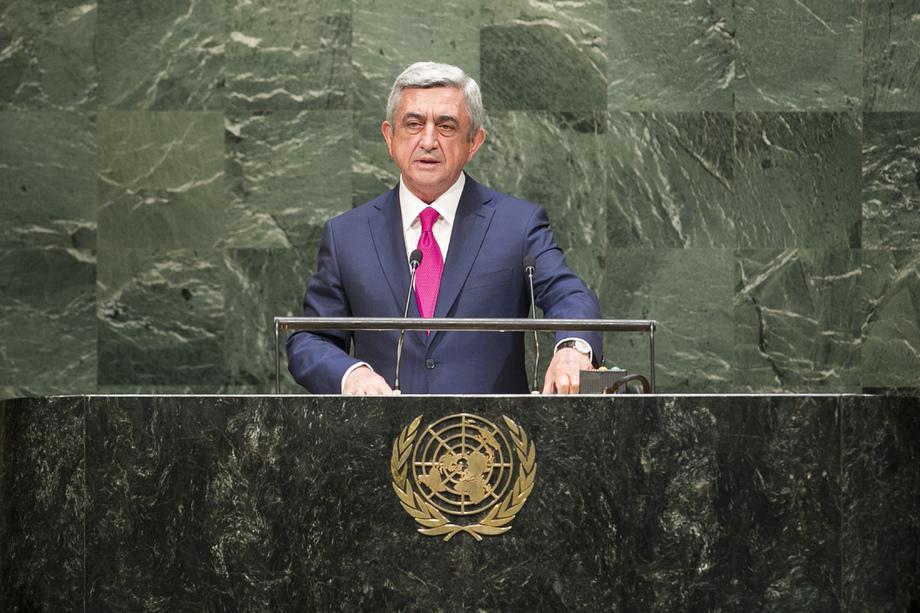 H.E. Mr.Serzh Sargsyan
