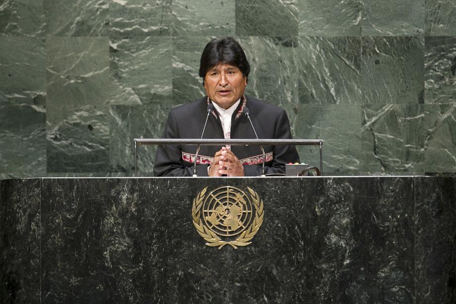 S.E. M.Evo Morales Ayma