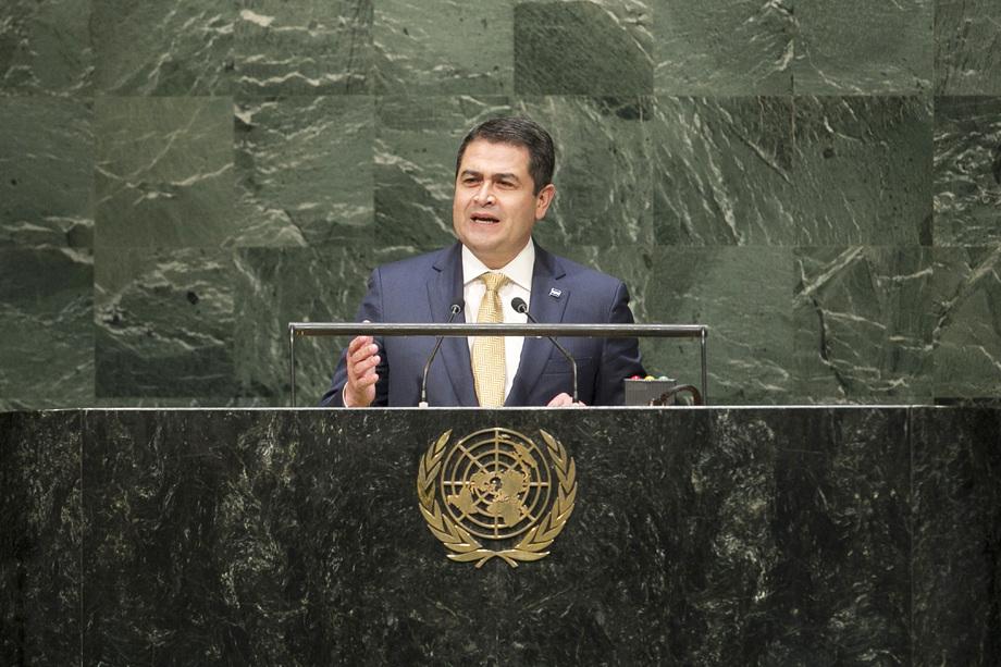 S.E. M.Juan Orlando Hernández Alvarado