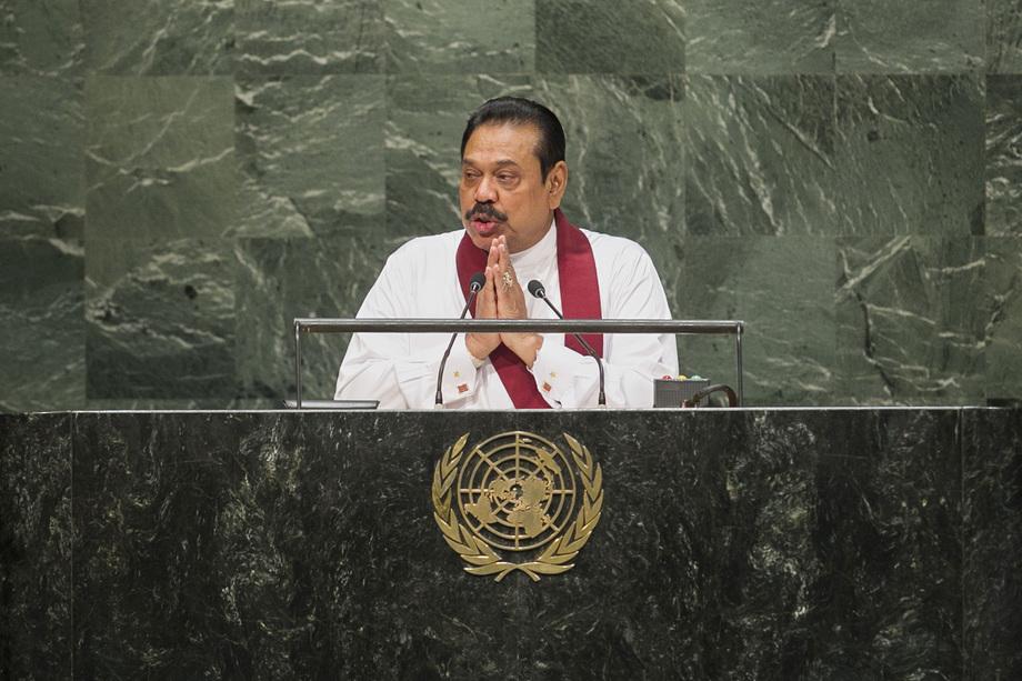 H.E. Mr. Mahi nda Rajapaksa