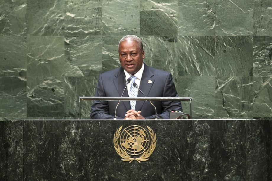 S.E. M.John Dramani MAHAMA