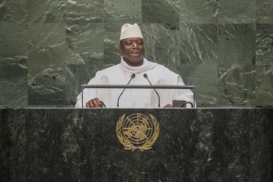 H.E. Mr.Alhaji Dr. Yahya A J J Jammeh Babila Mansa