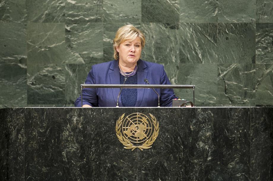 H.E. Mrs.Erna SOLBERG