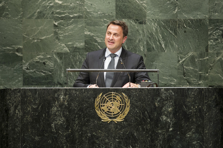 H.E. Mr.Xavier Bettel