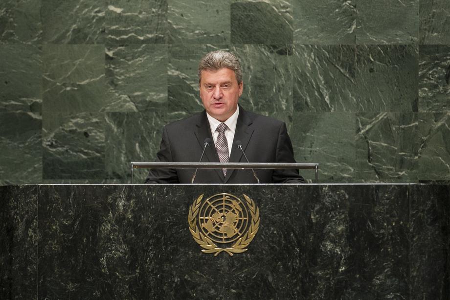 S.E. M.Gjorge Ivanov