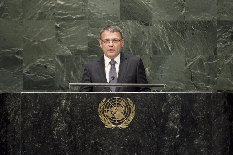 H.E. Mr.Lubomír Zaorálek