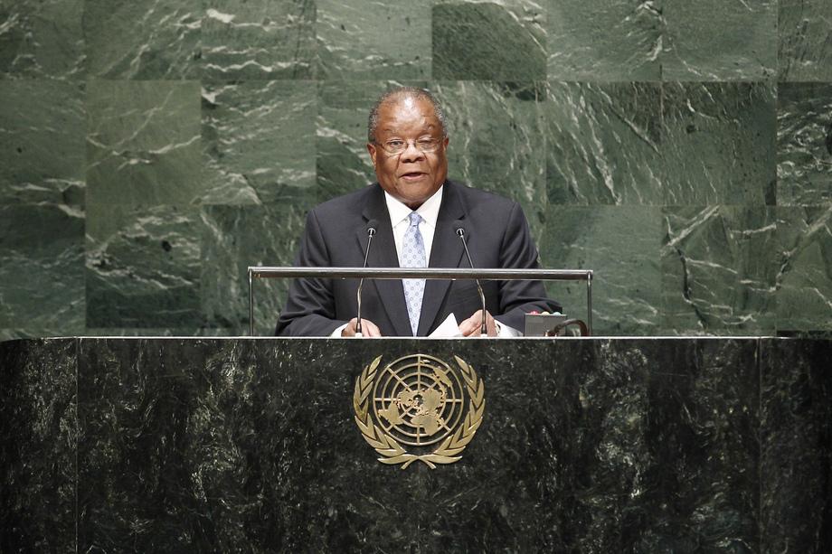 H.E. Mr.Barnabas Sibusiso Dlamini